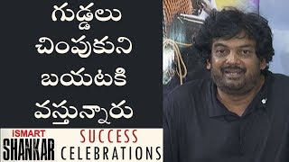 We didn't expect such great openings: Puri Jagannadh at iSmart Shankar Success Celebrations