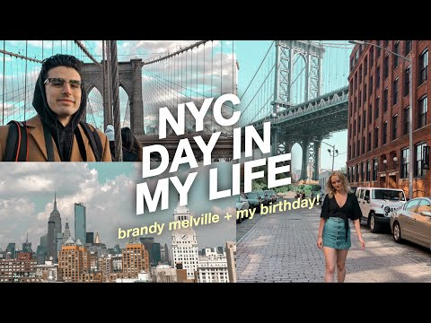 New York City Day In My Life! Boyfriend Takes Me On A Birthday Trip To NYC?!