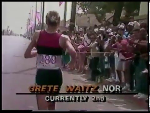 Olympics - 1984 Los Angeles - Womens Marathon - Part 3 - Greta Waitz & Joan Benoit   imasportsphile