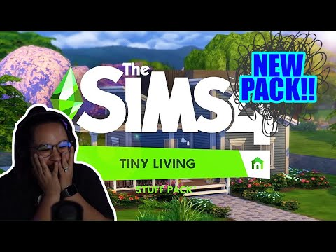 TINY LIVING PACK REACTION!! | The Sims 4 |