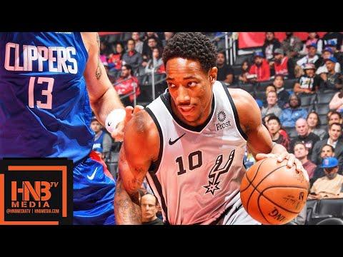 San Antonio Spurs vs LA Clippers Full Game Highlights | 11.15.2018, NBA Season