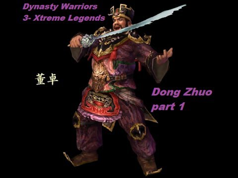 Let's Play Dynasty Warriors 3: Xtreme Legends- Dong Zhuo part 1 (Hu Lao Gate)