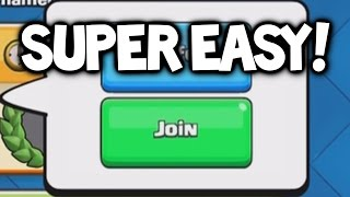 Clash Royale ★ EASY Ways To JOIN TOURNAMENTS In Clash Royale! ★ Clash Royale Tournament Update!