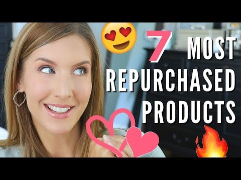 Top 7 MOST REPURCHASED Beauty Products   Collab with Annep