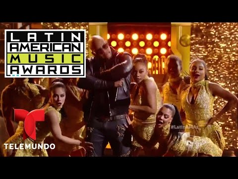 Pitbull, Flo Rida y Lunchmoney Lewis inauguran los Latin AMAs 2016 | LAMAS | Entretenimiento