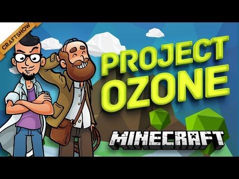 МОБИЛЬНЫЙ КРАФТИНГ - Project Ozone #8 (Minecraft HQM Sky Block карта)