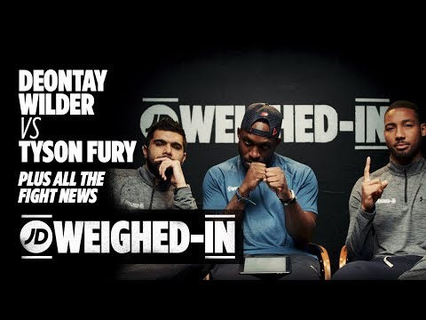 Deontay Wilder Vs Tyson Fury Media Tour Plus All The Latest Fight News | JD Weighed In
