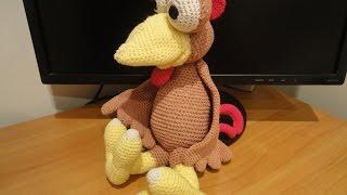 Петух Морхухн Ч-4 Cock Moorhuhn Crochet Р-4