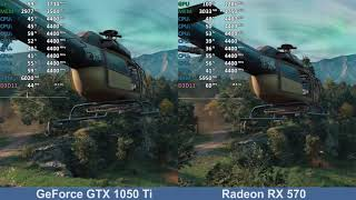 Well... GeForce GTX 1050 Ti vs Radeon RX 570 - Far Cry New Dawn - Benchmark Test Comparison