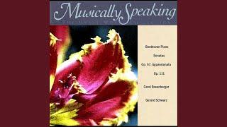 Piano Sonata, Op. 111: II. Maestoso, Arietta: Adagio molto semplice e cantabile