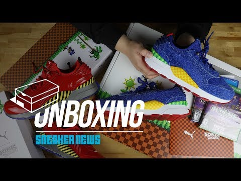 Unboxing The SEGA x Puma RS-0 Collection