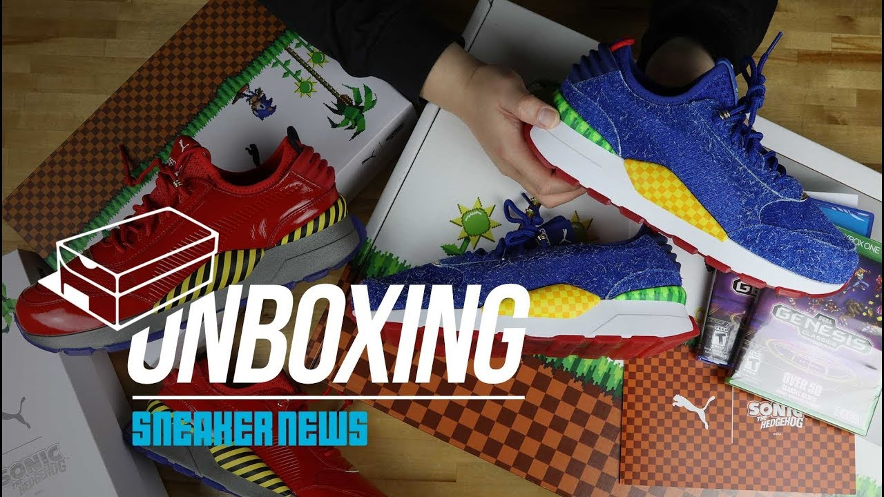95659284fdf Unboxing The SEGA Puma RS-0 Collection - YouTube