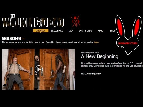 How To Catch Up On THE WALKING DEAD S9 😱 | Best Free Streaming Sites With Subtitles 👍