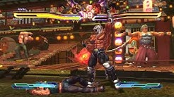 Street Fighter X Tekken Gameplay