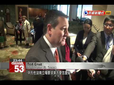 Tsai meets with US Senator Cruz despite China's warning to Texas congressional delegation