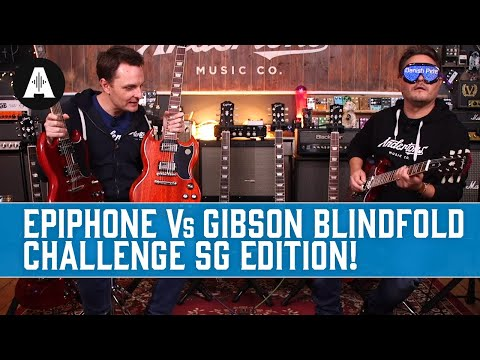 Epiphone Inspired By Gibson SG Shootout! - So Close...You Can't Hear The Difference!