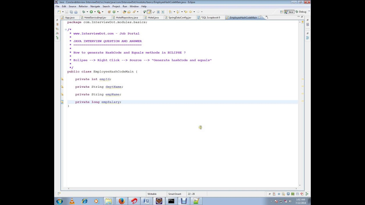 how to make an equals method in java