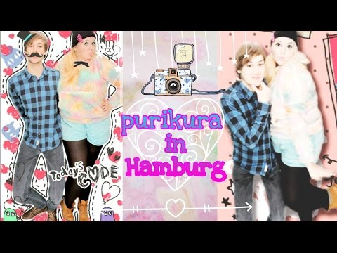 PURIKURA - Fotos on fleek mit dem Foto Automat aus Japan in Hamburger J-Store
