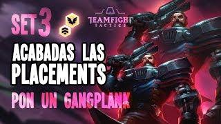 TEAMFIGHT TACTICS   Última partida de posicionamiento   PON UN GANGPLANK!