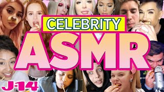 ASMR: Celebrities Whispering and Eating on Camera