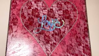 Glam Dollar Tree DIY Home Decor Last Minute Valentine's Day Gift Creating Elegance For Less 2019