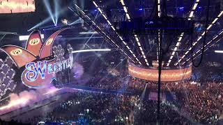 AJ Styles entrance at Wrestlemania 34 live