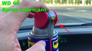 ✅ How To Use WD 40 Spray Review