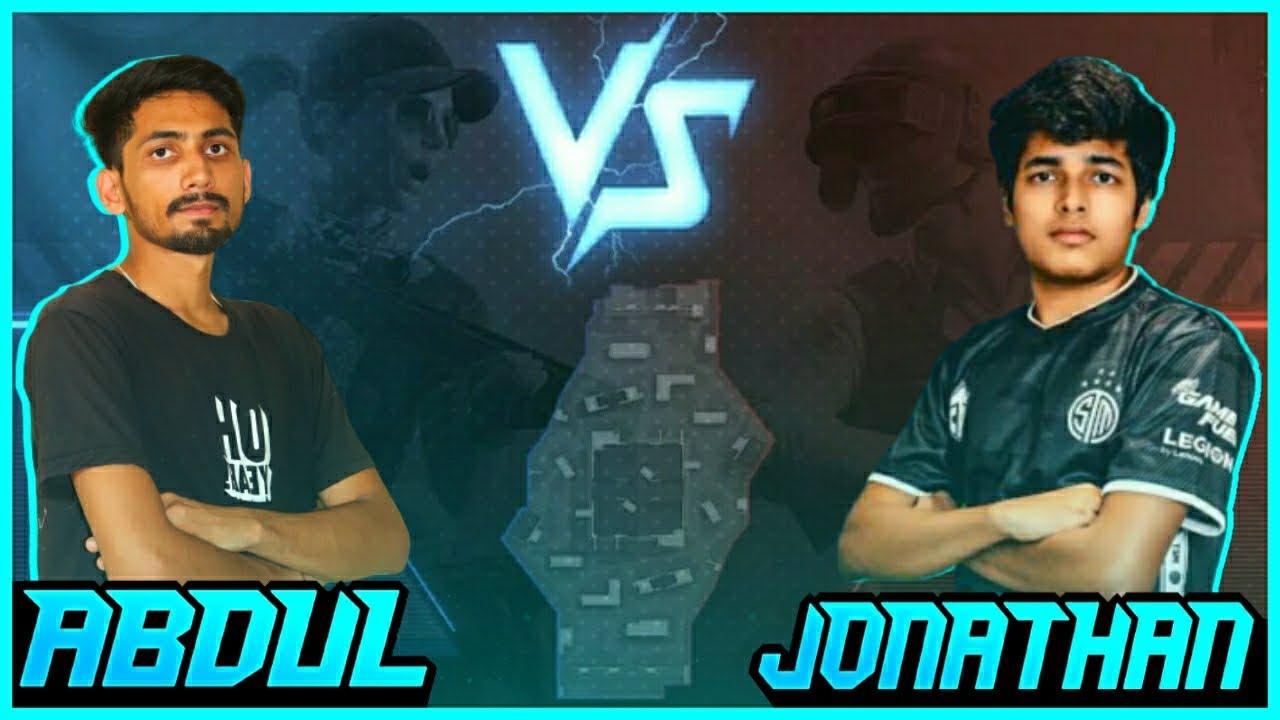 Underdogs vs Jonathan||Pubg Mobile India||ft.Legend Abdul