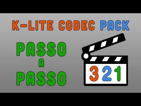 Configuração do K-Lite Codec MEGA, Passo a Passo.