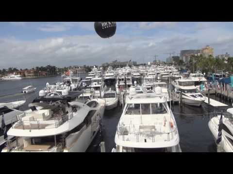 2017 Fort Lauderdale International Boat Show at the Convention Center