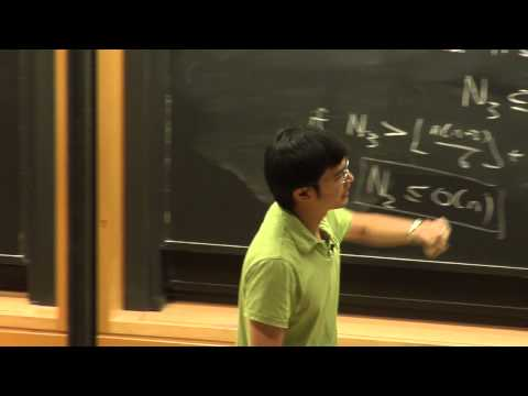 Minerva Lectures 2013 - Terence Tao Talk 1: Sets with few ordinary lines