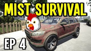 CATCHING CHICKENS and FIXING CARS - Mist Survival Gameplay - Ep 4