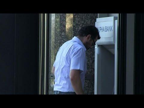 Banks reopen in Greece after three-week shutdown