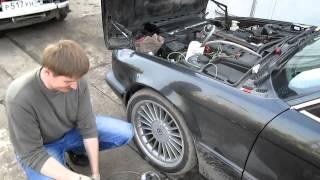 BMW LifeStyle Omsk: Промывка форсунок BMW E34 M50B26 Винсом