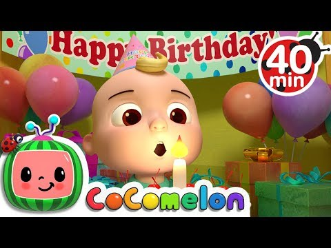 Happy Birthday Song  +More Nursery Rhymes & Kids Songs  Cocomelon ABCkidTV