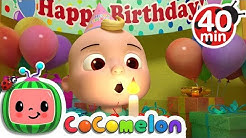 Happy Birthday Song + More Nursery Rhymes & Kids Songs - CoComelon