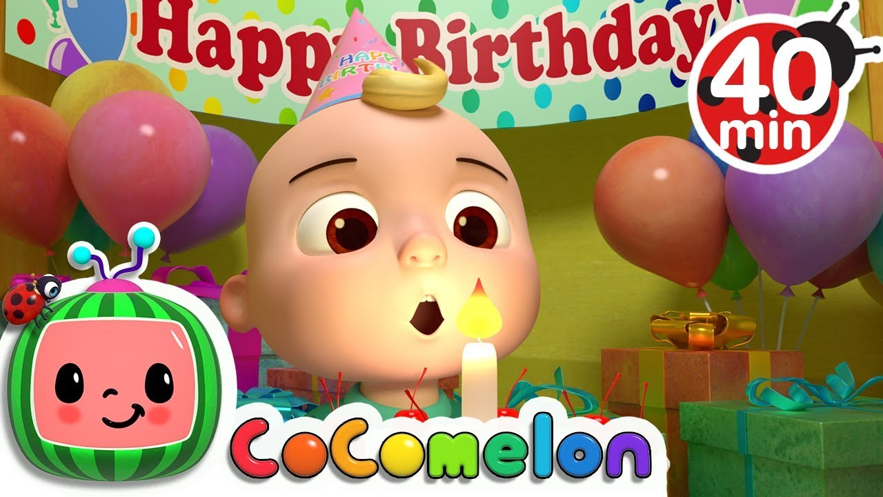 Happy Birthday Song More Nursery Rhymes Kids Songs Cocomelon Youtube