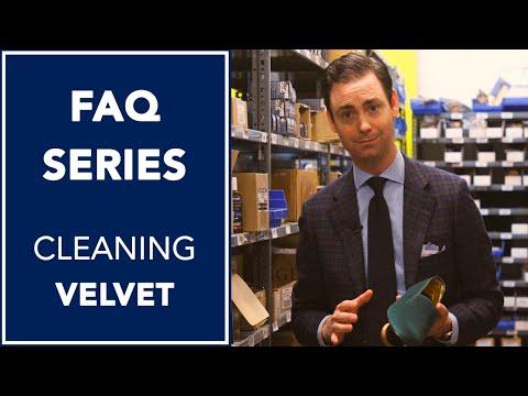 How To Clean Velvet Slippers L FAQ L Kirby Allison