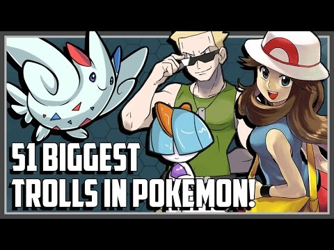 51 Things in Pokemon That Are COMPLETE Trolls!