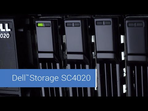 Dell Storage SC4020: Strong performance, high capacity - YouTube