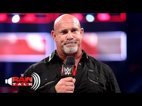 Thumbnail: Goldberg says goodbye ... for now: Raw Talk, April 3, 2017 (WWE Network Exclusive)