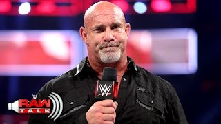 Goldberg says goodbye ... for now: Raw Talk, April 3, 2017 (WWE Network Exclusive) thumbnail