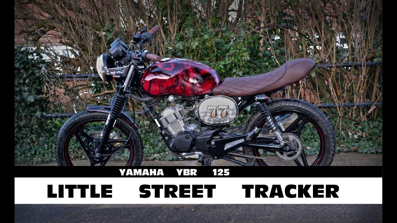 Cambridge Pinstriping Yamaha Ybr 125