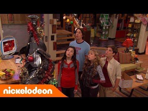 Episodios de 5 Minutos | iCarly | La Navidad | Nickelodeon en Español