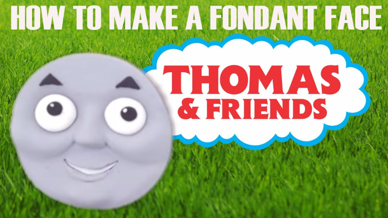 photo regarding Thomas and Friends Printable Faces titled How towards create a fondant Thomas the Tank Motor cake confront ann reardon howtocookthat