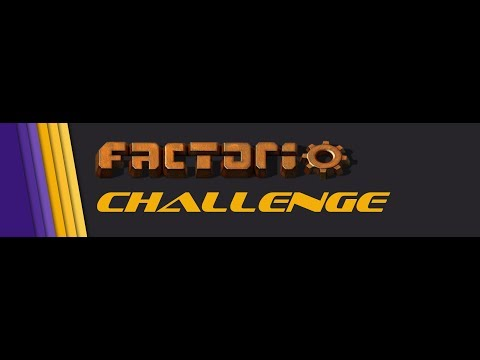 """Factorio Challenge - #1 """"The Path is Sacred"""""""