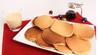 Eggnog Pancakes Recipe - Laura Vitale - Laura In The Kitchen Episode 692