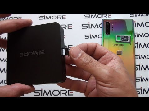 Add 2 Active SIM To Galaxy Note 10+ With SIMore DualSIM@home Router Adapter