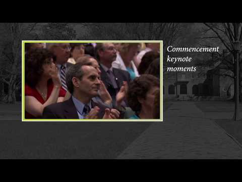 Commencement keynote moments: Excerpts from speeches