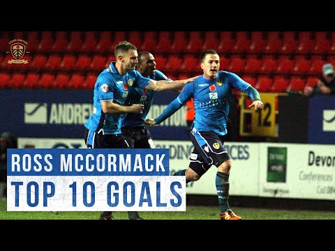 Top 10 goals: Ross McCormack | Leeds United